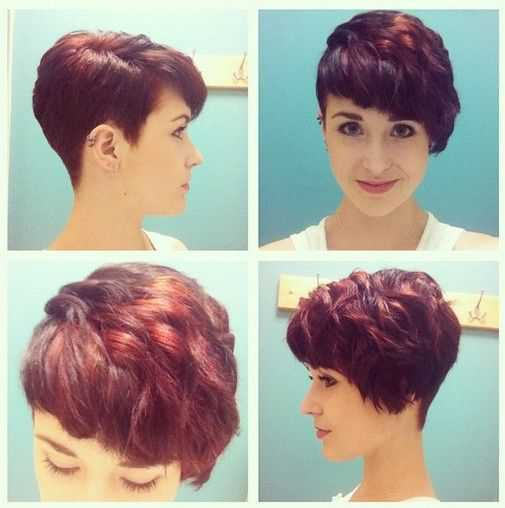 Short Hairstyles Trends for 2015 Trendy-Red-Wavy-Haircuts-for-Short-Hair