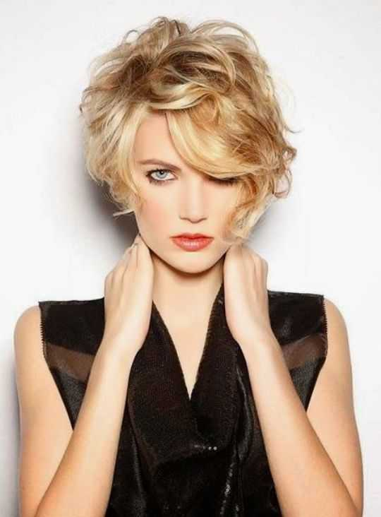 Trendy Short Curly Hairstyles 2015