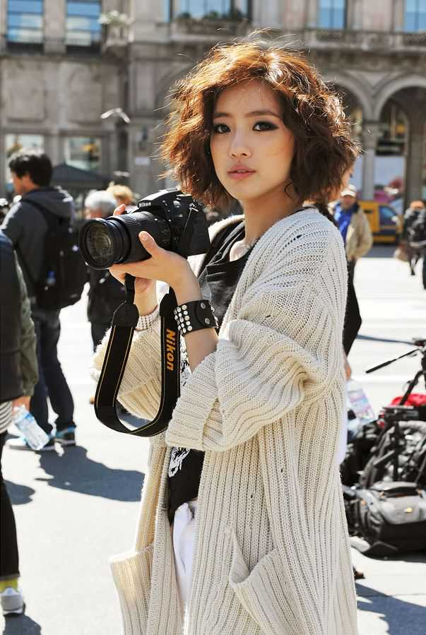 Trendy Short Curly Hairstyles 2015 asian-short-curly-hairstyles