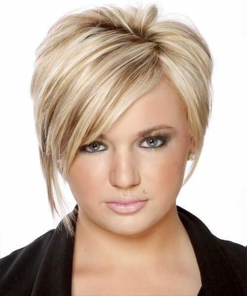 Best Short Hairstyles for Round Faces 2015 short-blonde-hairstyles-for-round-faces