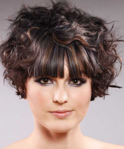 Trendy Short Curly Hairstyles 2015 short-curly-hairstyles-with-bangs