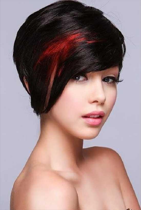 Cute Short Haircuts with Highlights short-haircuts-with-red-highlights