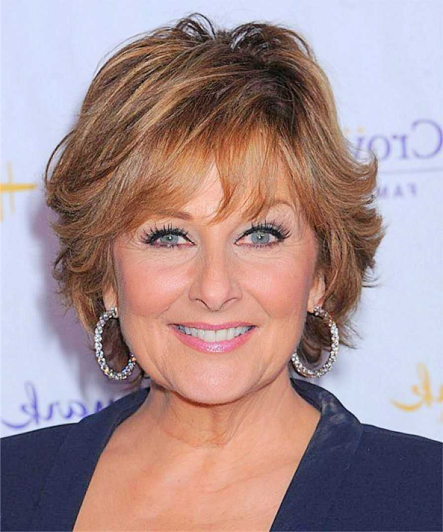 Short Hairstyles For Women Over 60 With Round Faces Short