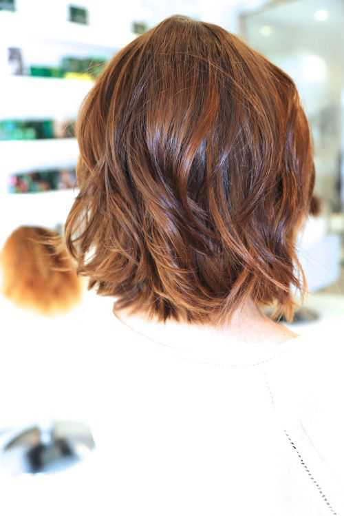 short shaggy haircuts for wavy hair