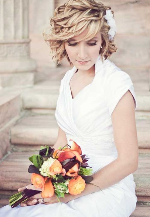 Best Wedding Hairstyles for Short Hair 2015 Best-Wedding-Hairstyles-for-Short-Hair-2015