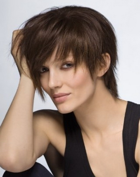 choppy layered haircuts for short hair