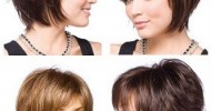 Short Layered Hairstyles Front And Back View