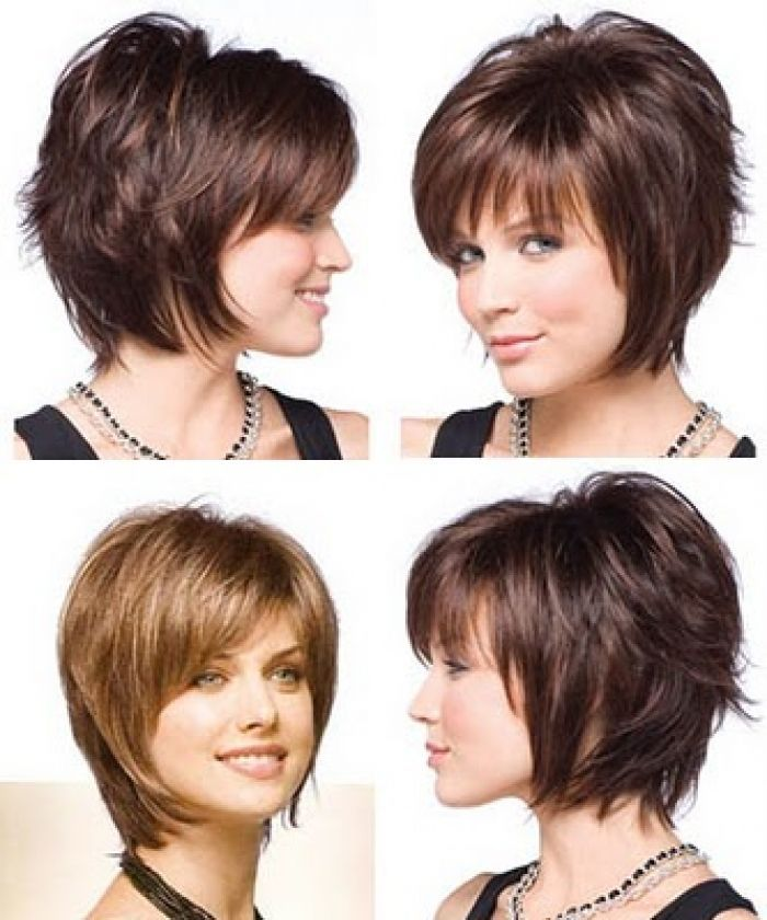 Short Layered Hairstyles for 2015 short-layered-hairstyles-front-and-back-view