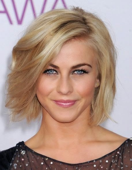 short shaggy bob for fine hair