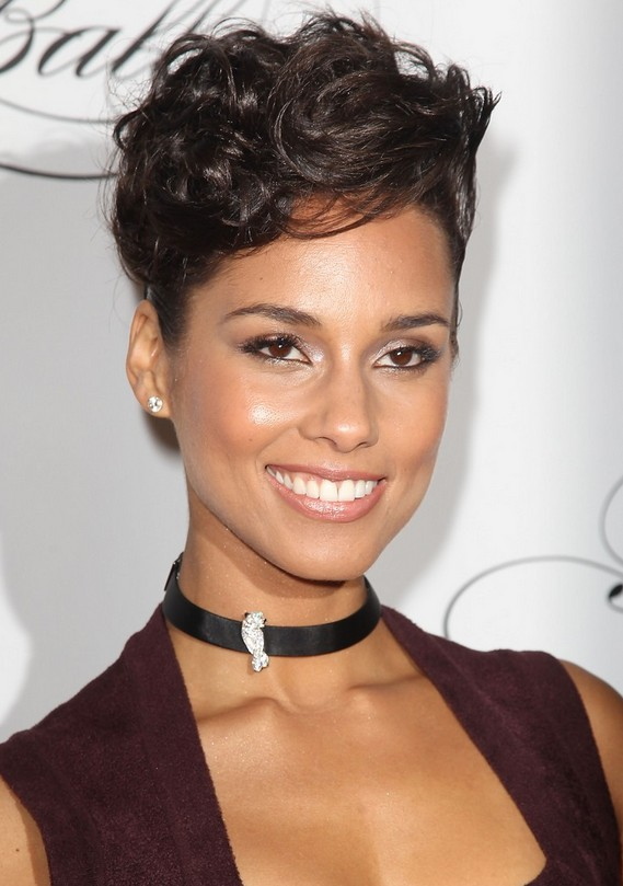 short and sassy black hairstyles