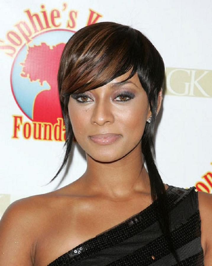 Cute Short Black Hairstyles for Women short-black-hairstyles-with-highlights