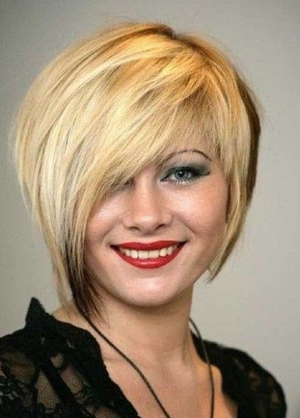 short layered asymmetrical haircuts