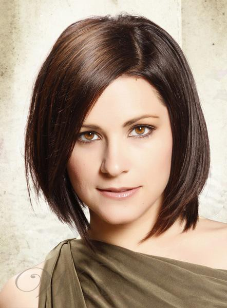 short layered bob for straight hair