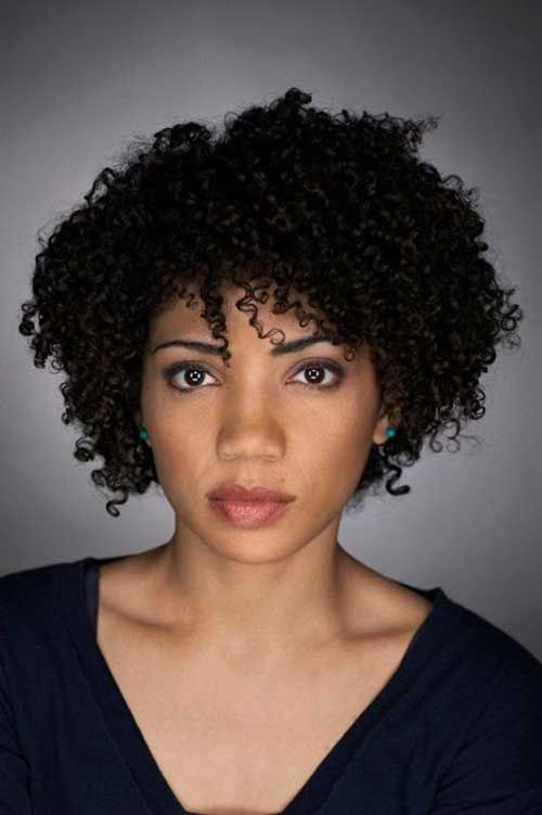 Cute Hairstyles For Short Curly Black Hair - Best Short Hair Styles