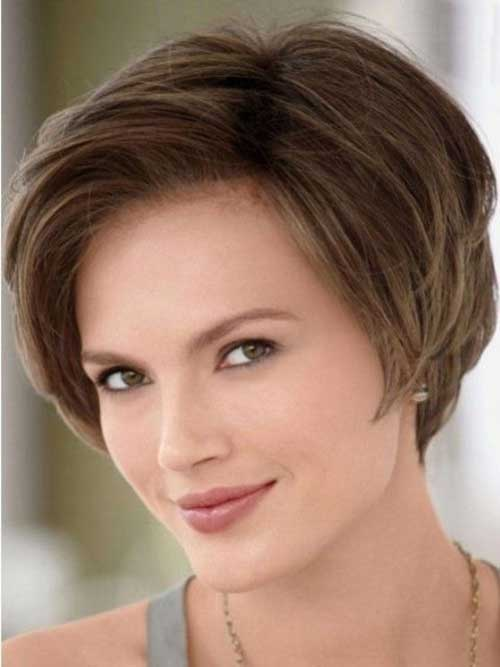 short haircuts for thick hair and square faces