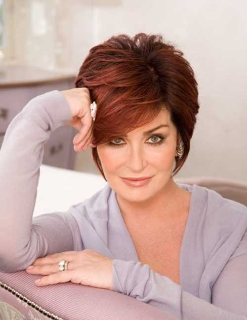 Beautiful Short Hairstyles for Older Women 2015 Short-Messy-Spikes-Hairstyles-for-Older-Women