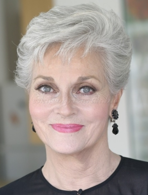 Cute Short Hairstyles for Women Over 60