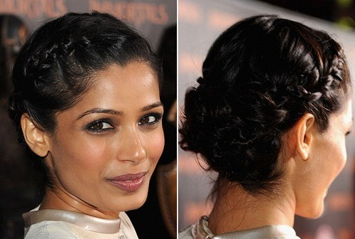 black braid hairstyles for short hair