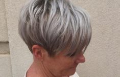 The Three Best Short Hairstyles for Gray Hair (Updated 2018) 69dfb8dbd72be9dab2073f37a6df7980-235x150