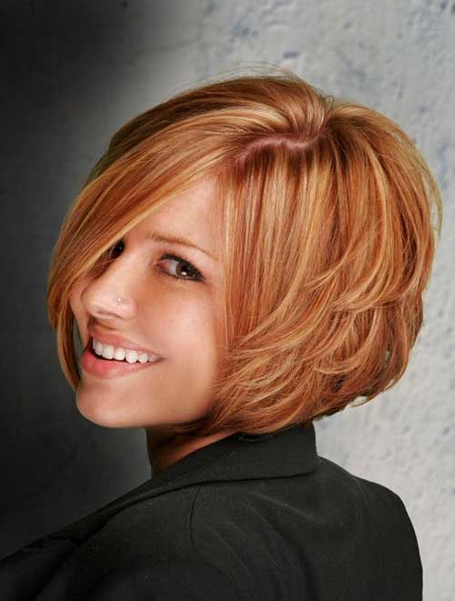 Beautiful Short Layered Bob Hairstyles 2015