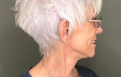 The Three Best Short Hairstyles for Gray Hair (Updated 2018) aca2c117bebbf3b550e45985ba5ed9a5-235x150