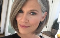 The Three Best Short Hairstyles for Gray Hair (Updated 2018) c12ee00d868e4d943b36f9efab5948f9-235x150