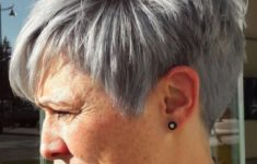 The Three Best Short Hairstyles for Gray Hair (Updated 2018) e5873abc582ab5bb170b1912a3368dde-235x150