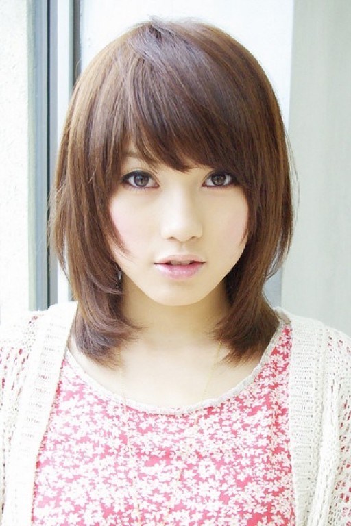 asian short layered hairstyles