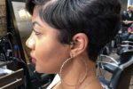 Short Straight Hairstyle For Black Women 5