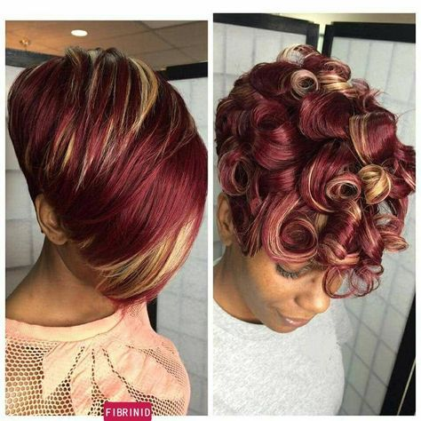 Big Soft Curls Hairstyle for African American Women 3