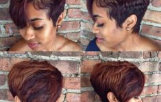 99 Images of the Best Short Hairstyles for Black Women (Updated 2018) bf4010c5c8606f519d6f572618a7a106-235x150