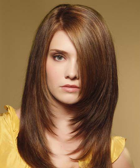 black hairstyles with side swept bangs 2016