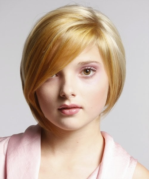 hairstyles for chubby face