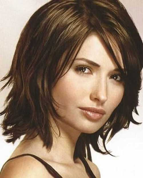 Short Brown Hairstyles 2016 short-brown-hairstyles-with-bangs-1