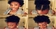 Short Natural African Hairstyles