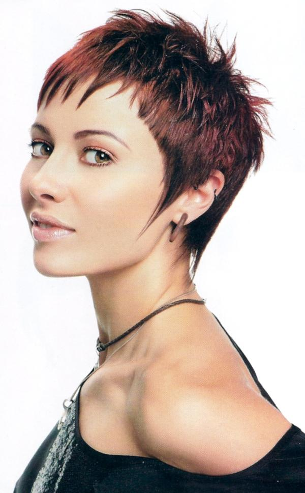 Short Spiky Hairstyles With Long Bangs - Best Short Hair Styles
