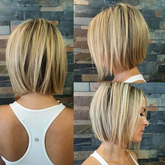 How to Cut Down Maintenance Time for Your Thick Hair blunt-bob-short-hair-1