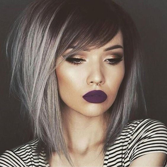Stunning Short Layered Bob Hairstyles edgy-bob-hair-styles-5