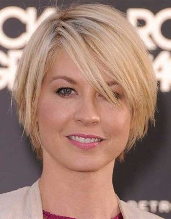 Be Elegant and Beautiful with Fine Short Haircuts for Round Face fine-short-hair-round-face-9