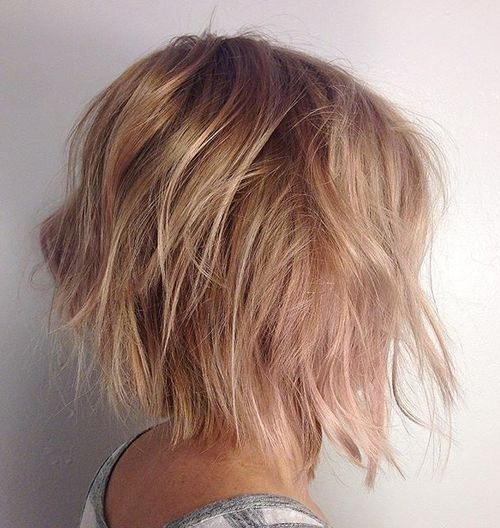 Best Style for Cute Bob Haircuts 2016 messy-tousled-bob-hairstyle