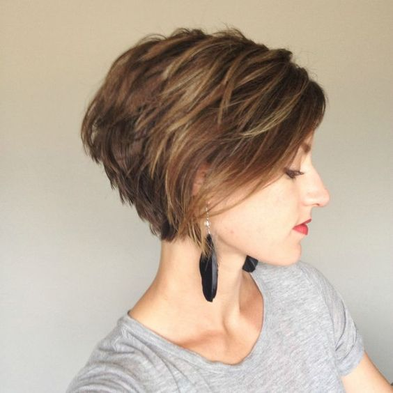 Stunning Short Layered Bob Hairstyles pixie-bob-haircut-styles-3