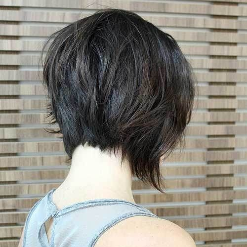 Stunning Short Layered Bob Hairstyles pixie-bob-haircut-styles-4