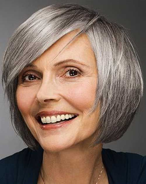 Short Bob Hairstyles for Women Over 50 short-bob-hairstyles-over-50-women-5