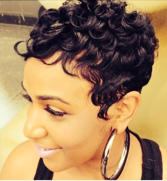 Types of Perms for Short Hair You Can Create short-hair-pin-curl-perms-2
