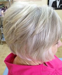 Get a Different Look with Short Layered Hairstyles for Women over 60 short-layered-hairstyles-for-women-over-60-1