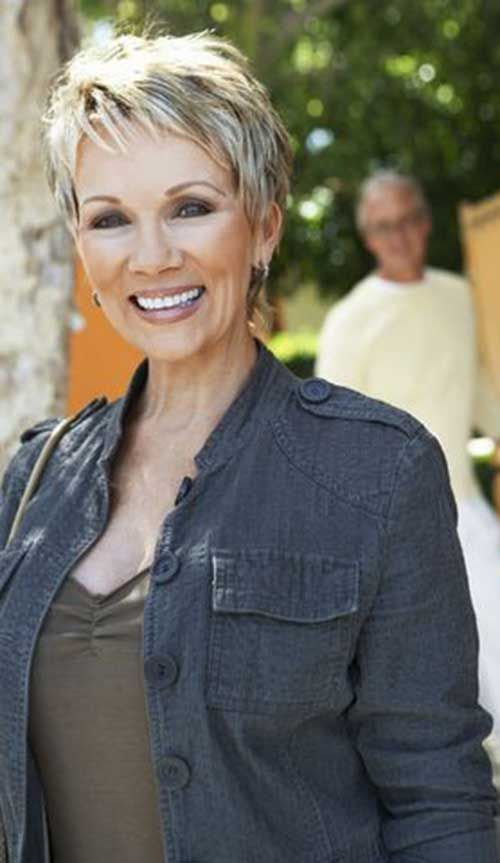 Pixie Haircuts for Women Over 60 thin-pixie-haircut-for-older-women-1