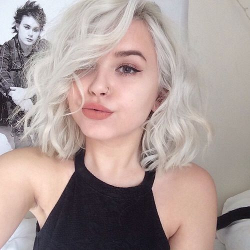 short wavy a-line bob hairstyle ideas collection