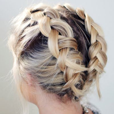 Double Dutch Braids Hairstyles Pictures 5