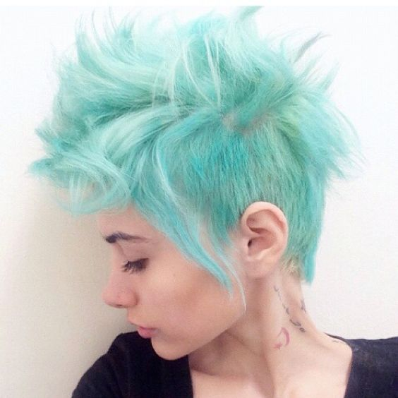 Aqua Pixie 2 Short Hairstyles 2018