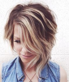 Short Haircuts For Thick Hair To Embellish Your Look Asymmetric_short_hairstyle_thick_hair_1